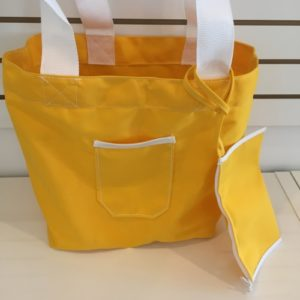 M Beach Bag +1 Pocket Yellow