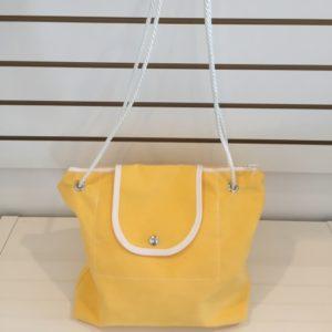 P Purse Bag Bright Yellow