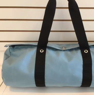 P Sunnyland Canvas Grey Bag Polochon 45